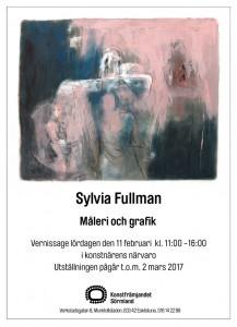 Vernissagekort - Sylvia Fullman